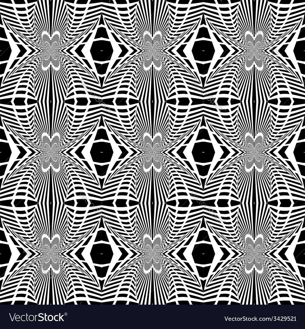 Design seamless striped geometric pattern vector   Price: 1 Credit (USD $1)