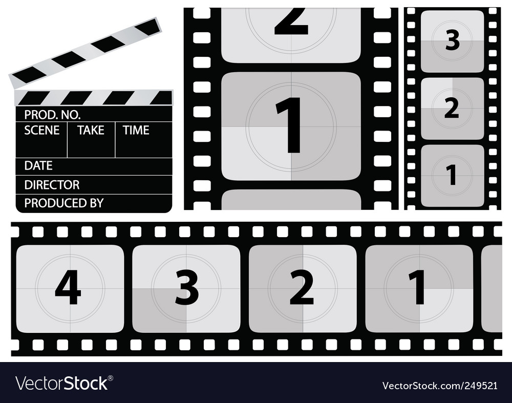 Film countdown vector | Price: 1 Credit (USD $1)