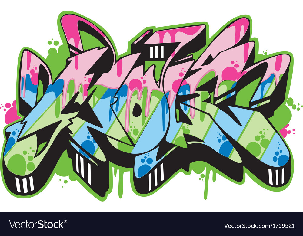 Graffito - mole vector | Price: 1 Credit (USD $1)