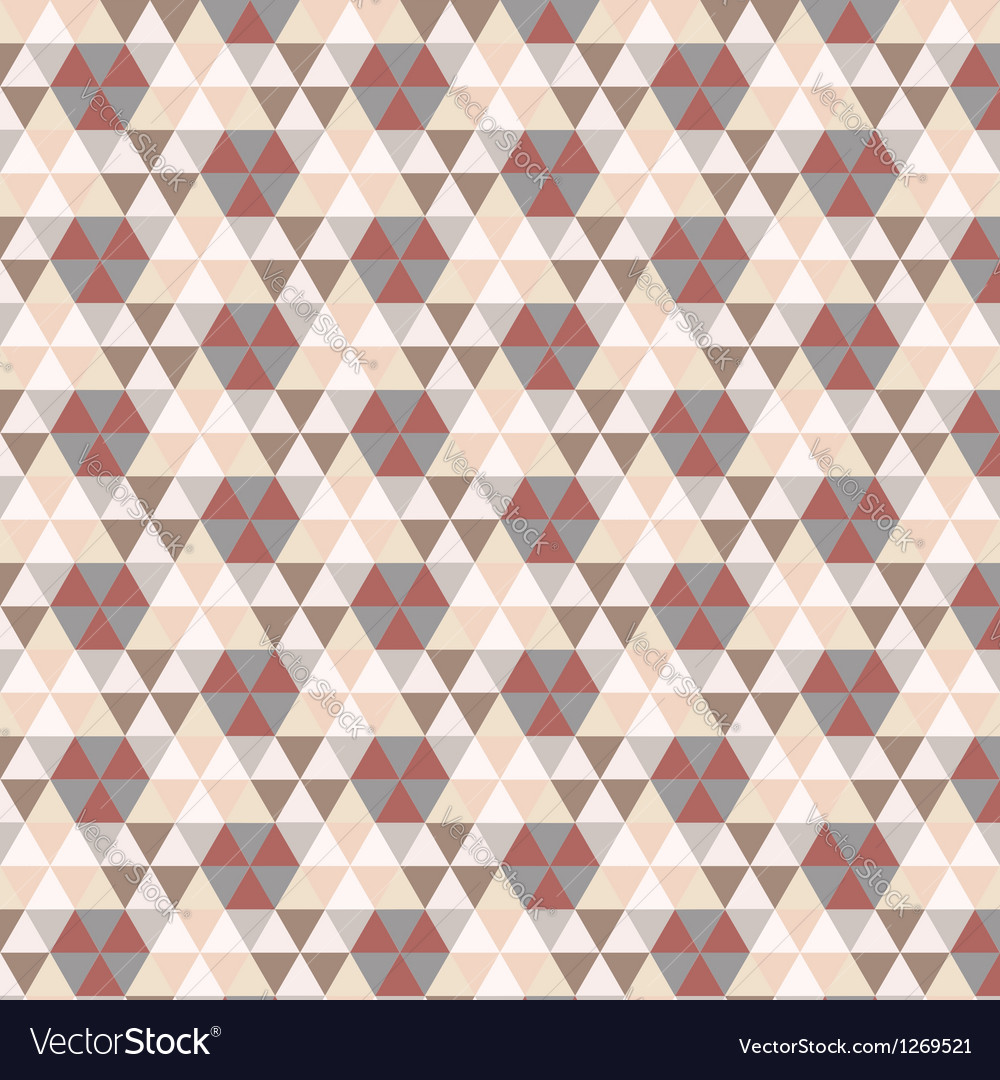 Triangular vintage pattern vector | Price: 1 Credit (USD $1)