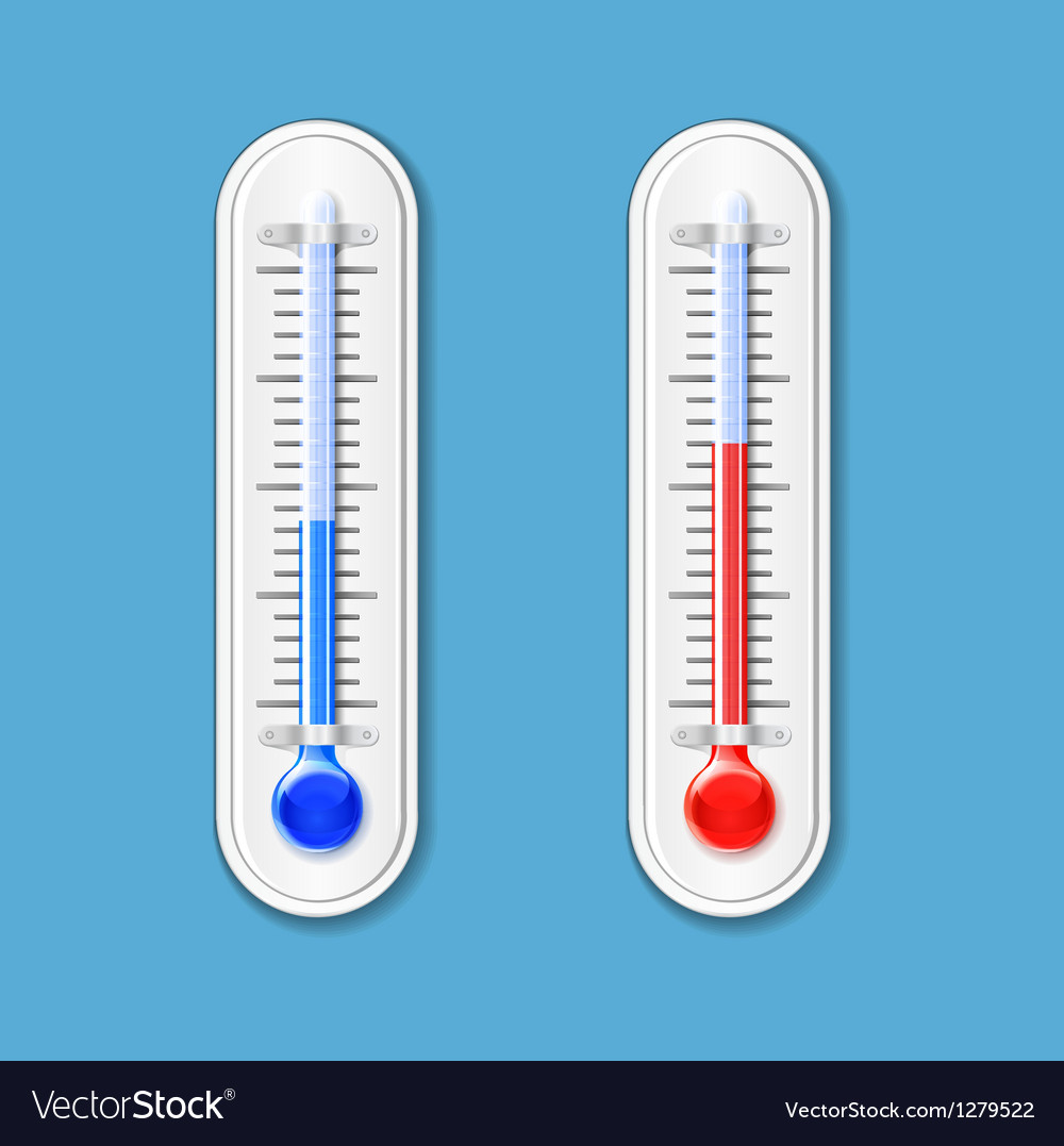 Outdoor thermometer vector | Price: 3 Credit (USD $3)
