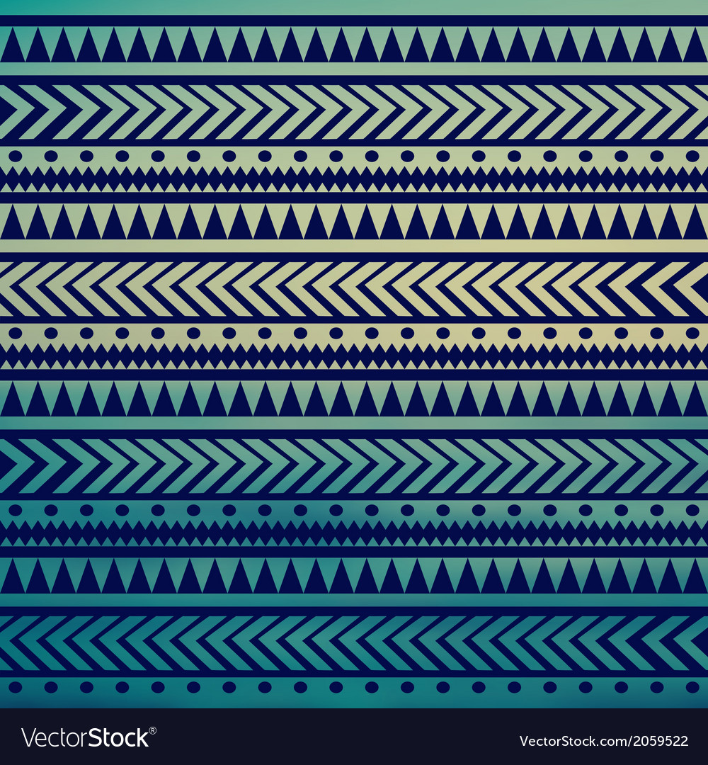Seamless tribal texture tribal pattern colorful vector | Price: 1 Credit (USD $1)