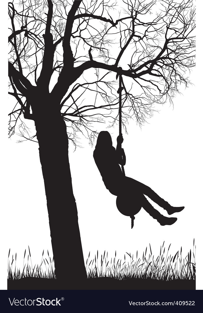 Silhouette nature vector | Price: 1 Credit (USD $1)