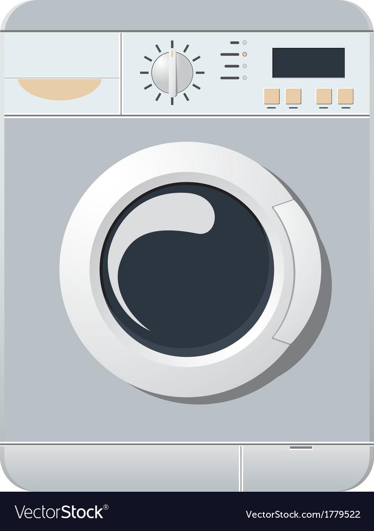 Washing-machine vector | Price: 1 Credit (USD $1)