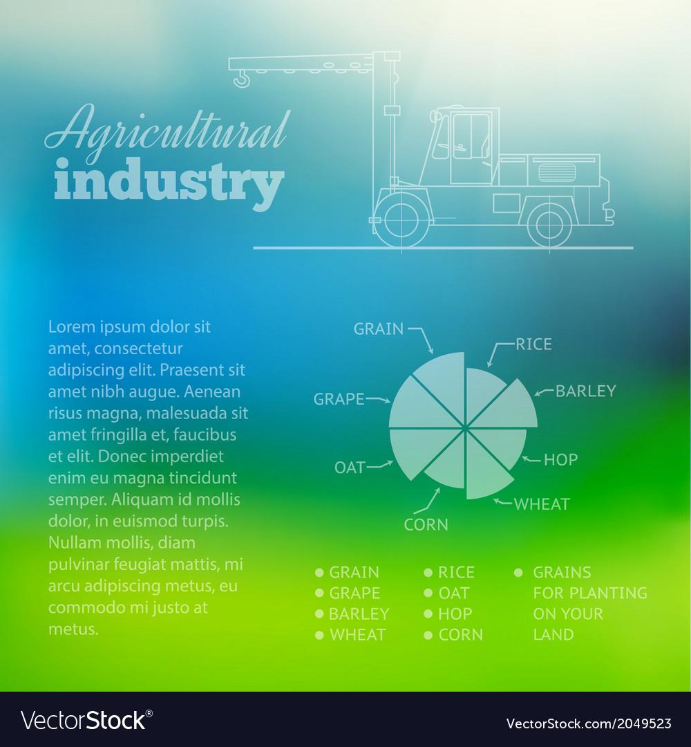 Cargo industry transportation vector | Price: 1 Credit (USD $1)