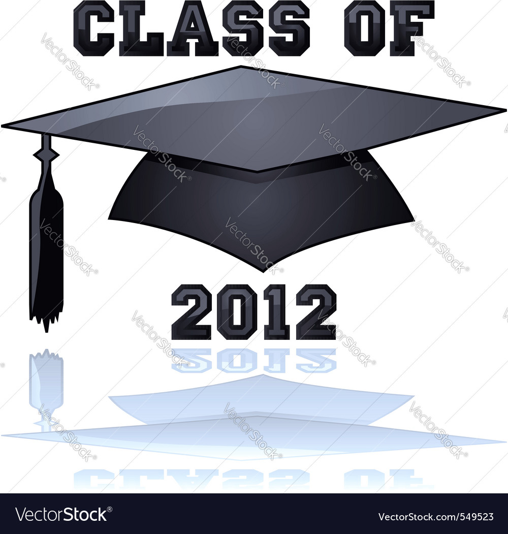 Class of 2012 vector