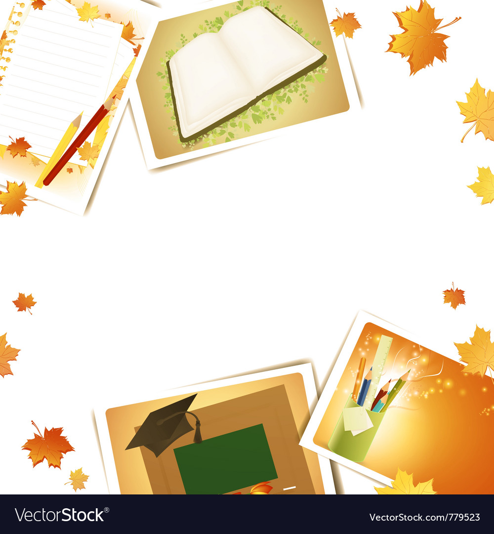 Education frame vector | Price: 3 Credit (USD $3)