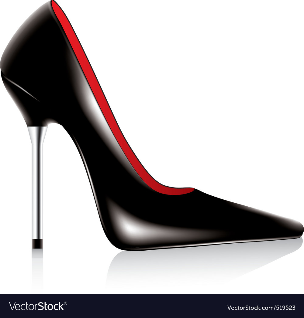 High heel shoe vector | Price: 1 Credit (USD $1)