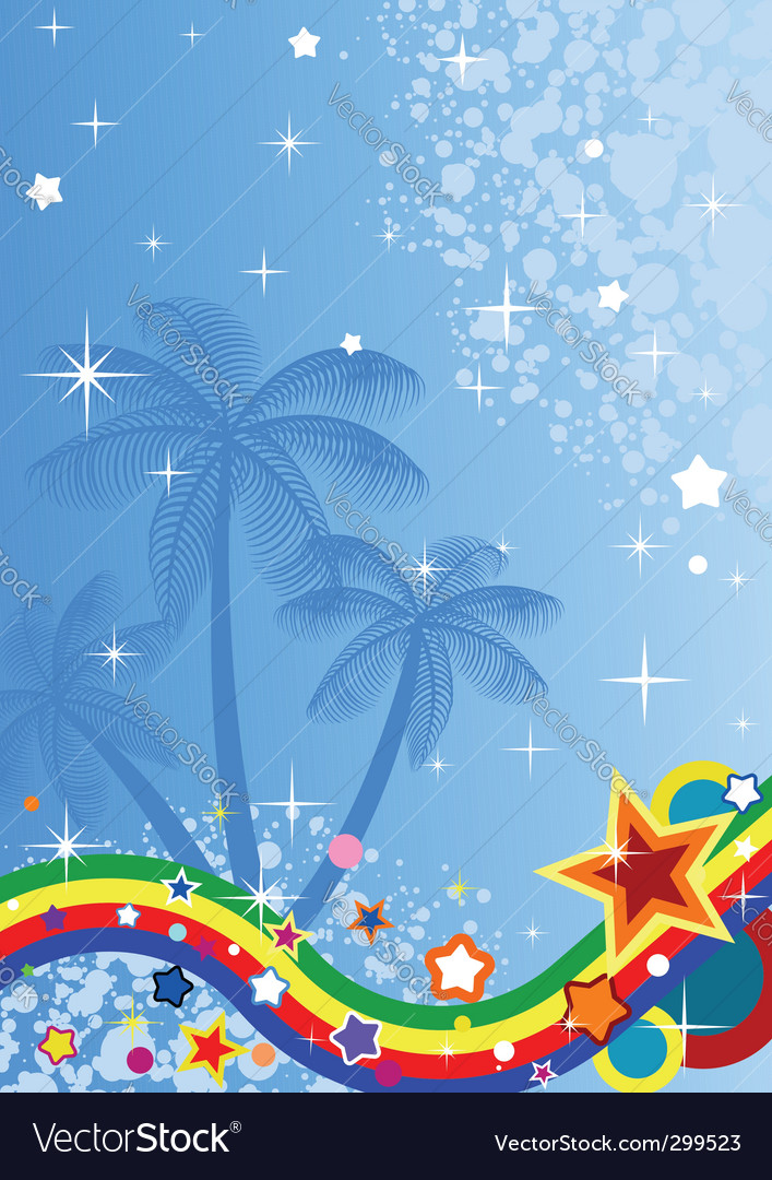 Tropical abstract background vector   Price: 1 Credit (USD $1)