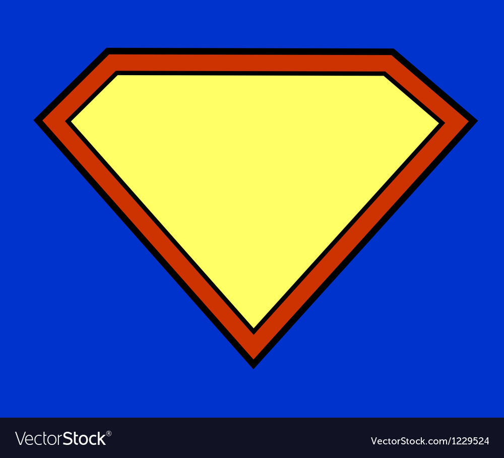 Super hero background vector