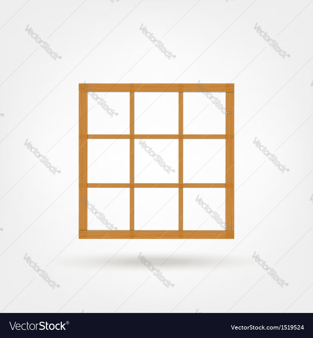 Wooden cabinet design vector | Price: 1 Credit (USD $1)