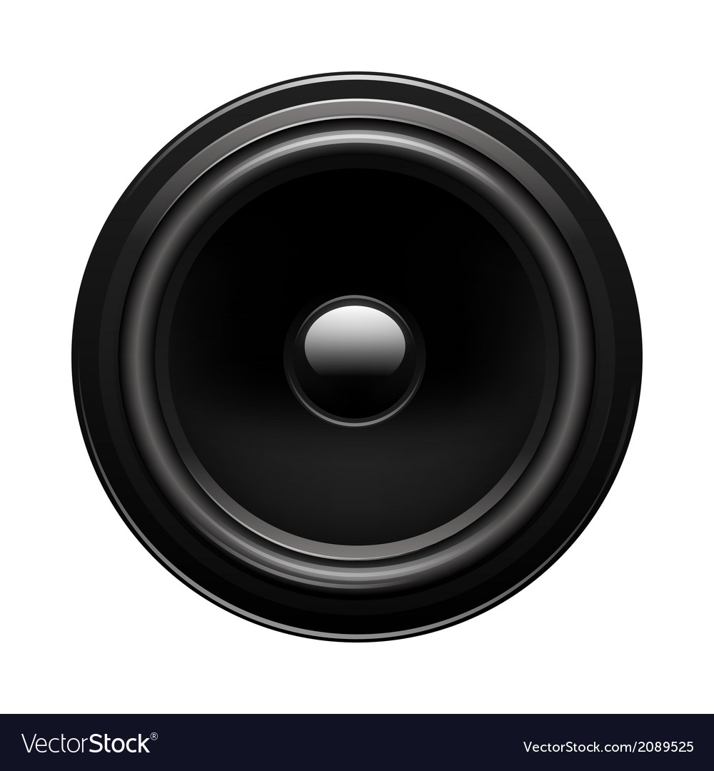 Audio speaker vector | Price: 1 Credit (USD $1)
