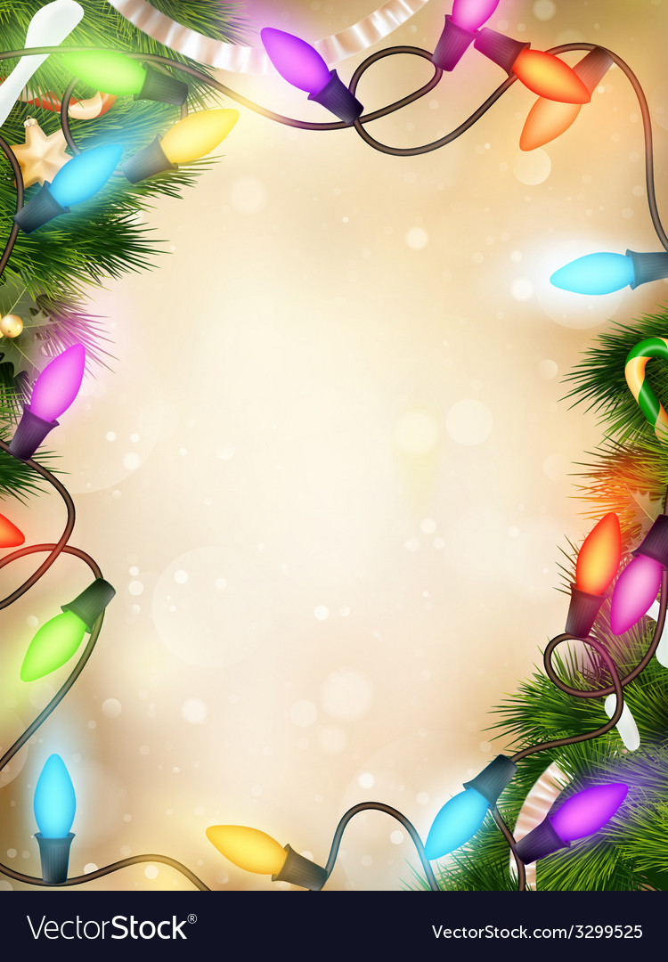 Christmas defocused light eps 10 vector | Price: 1 Credit (USD $1)