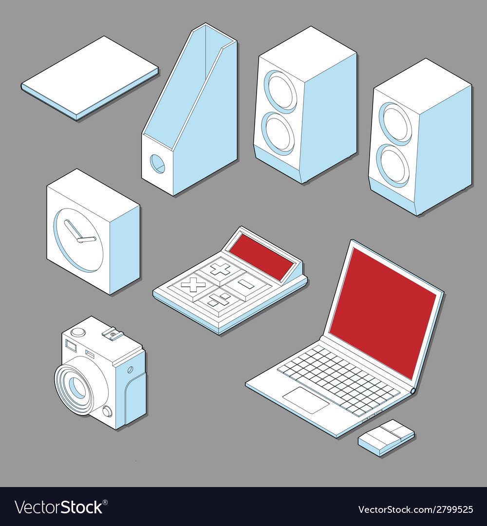 Digital device vector | Price: 1 Credit (USD $1)