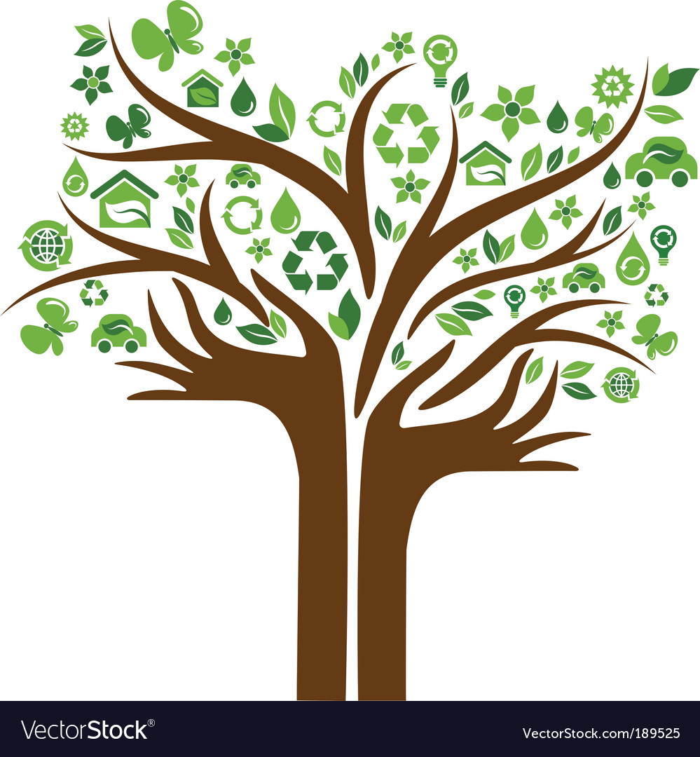 Eco tree vector | Price: 1 Credit (USD $1)