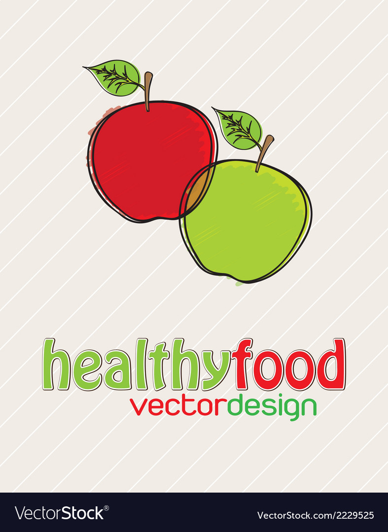 Healthy vector | Price: 1 Credit (USD $1)