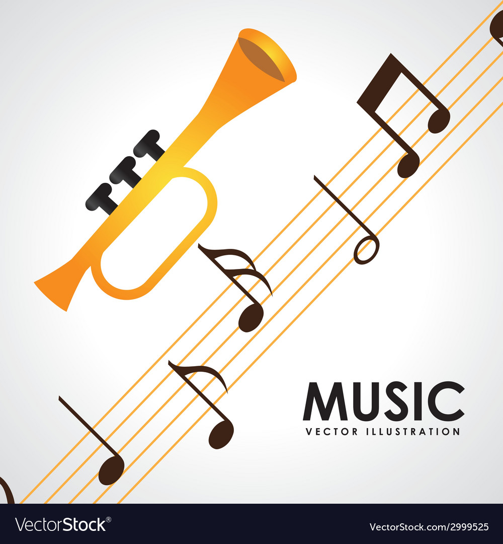 Music design vector | Price: 1 Credit (USD $1)