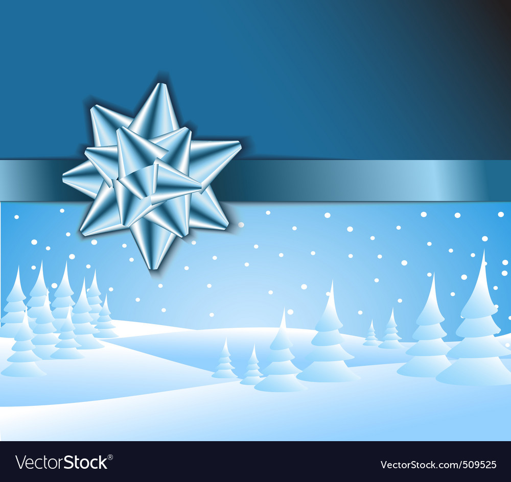 Winter wonderland vector | Price: 1 Credit (USD $1)