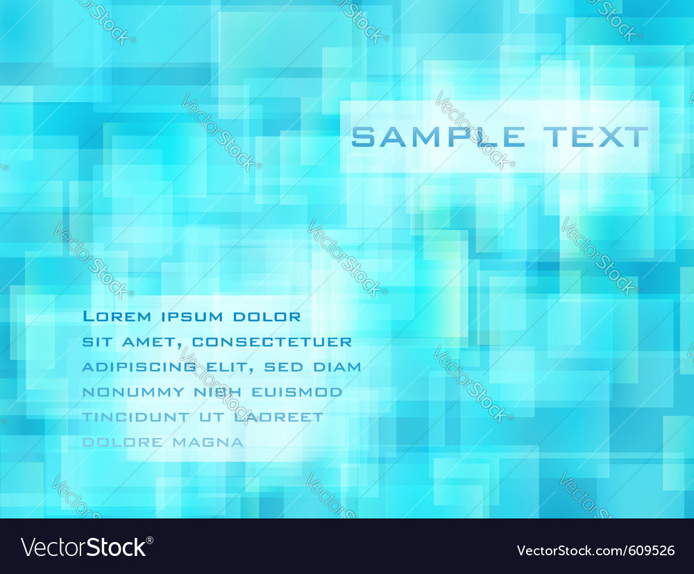 Abstract blue cell background vector | Price: 1 Credit (USD $1)