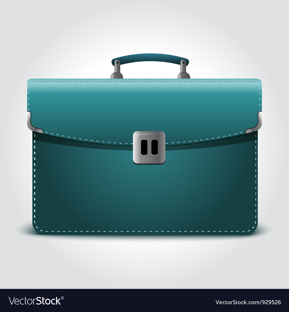 Business briefcase vector | Price: 3 Credit (USD $3)