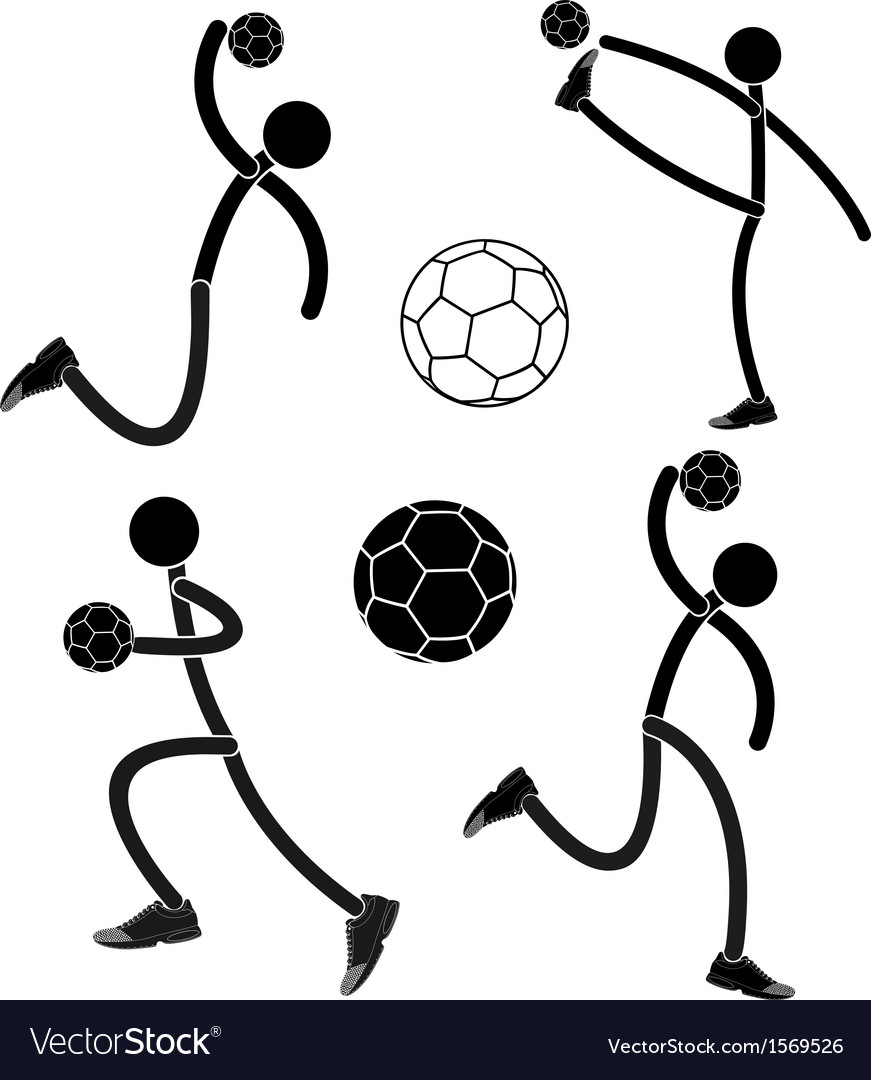 Handball vector | Price: 1 Credit (USD $1)