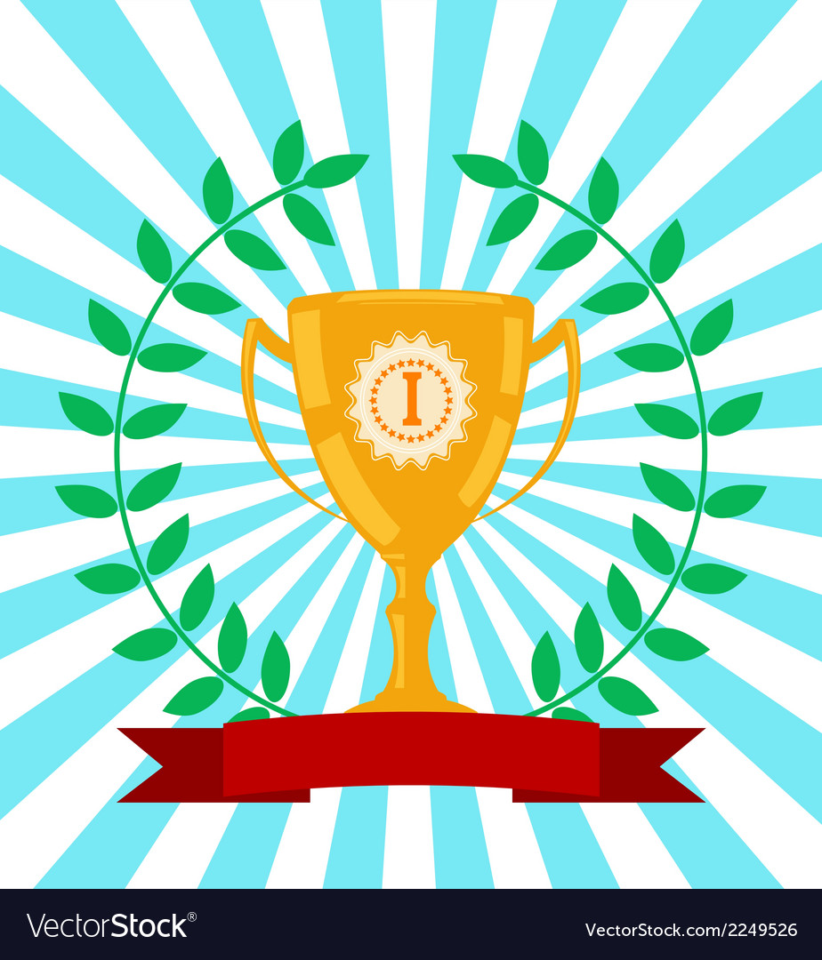 Winners award vector | Price: 1 Credit (USD $1)