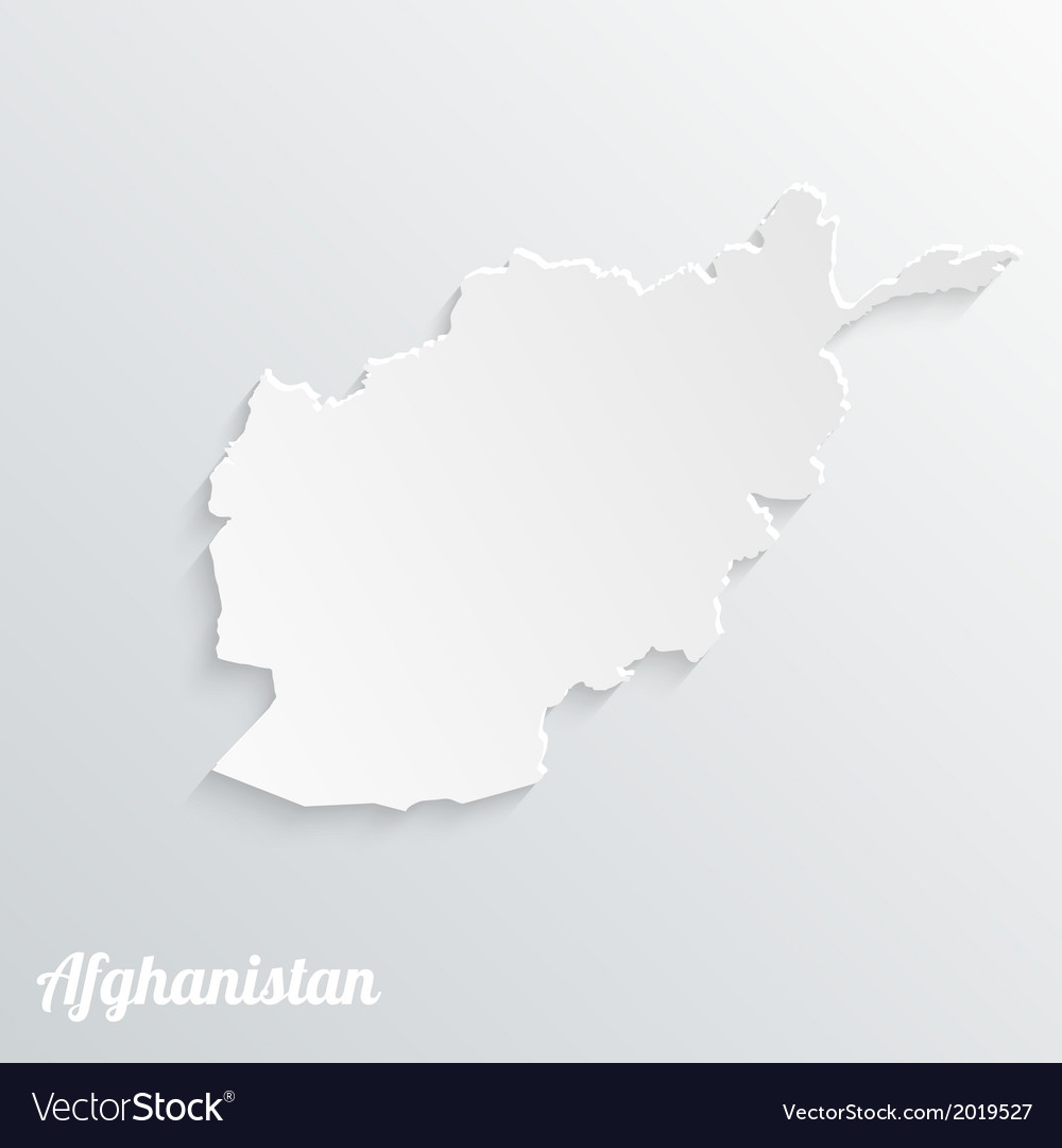 Abstract icon map of afghanistan vector | Price: 1 Credit (USD $1)