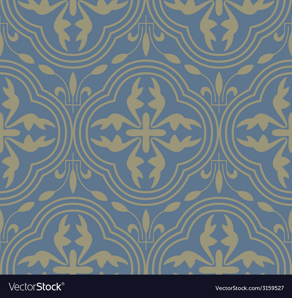 Medieval seamless pattern vector | Price: 1 Credit (USD $1)