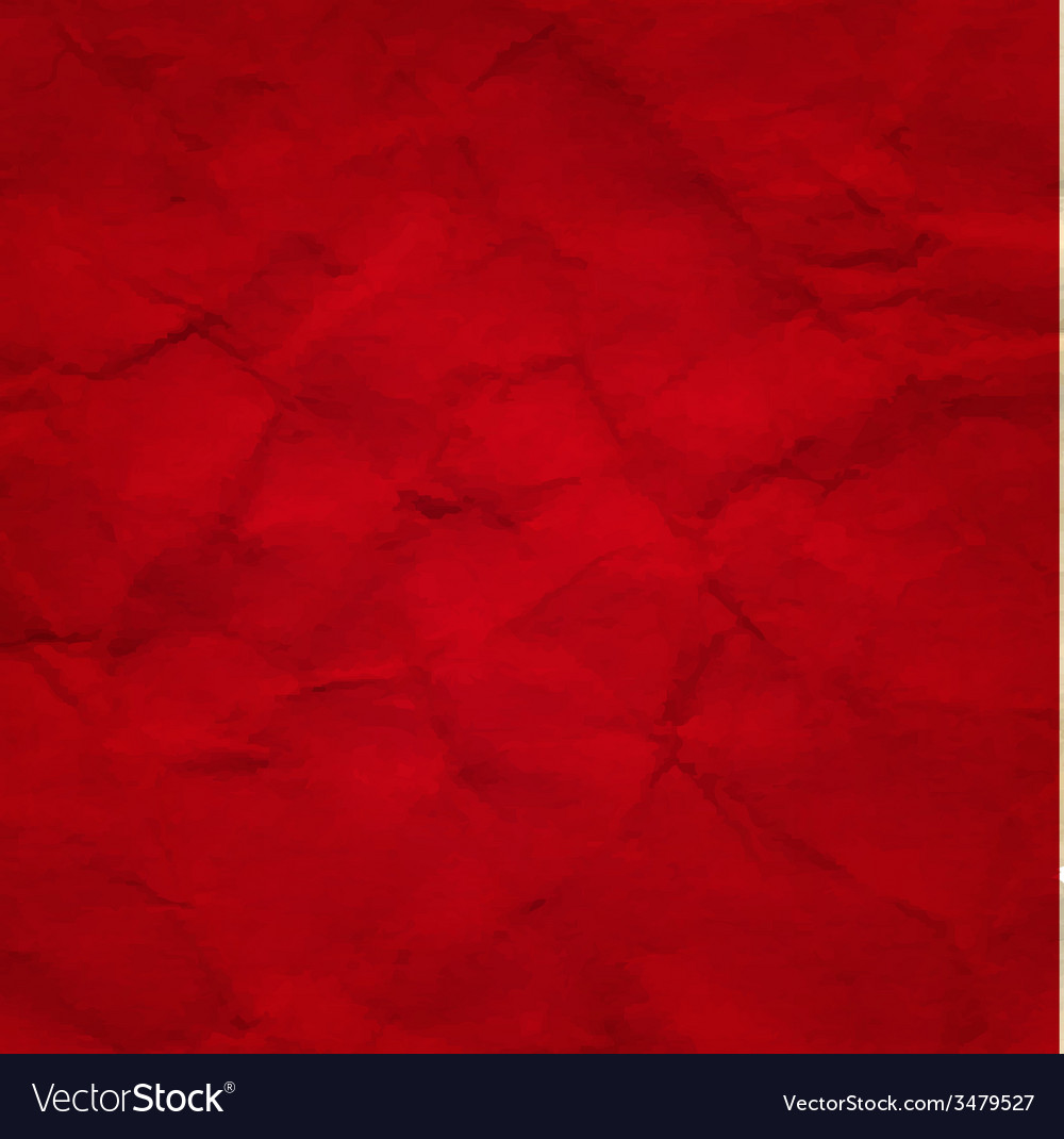 Red crushed paper vector | Price: 1 Credit (USD $1)