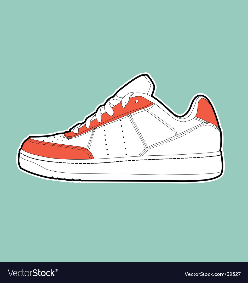 Sports shoe vector | Price: 1 Credit (USD $1)