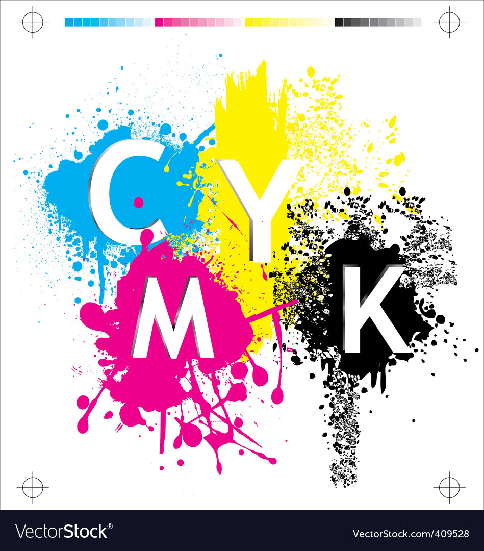 Cmyk elements vector | Price: 1 Credit (USD $1)