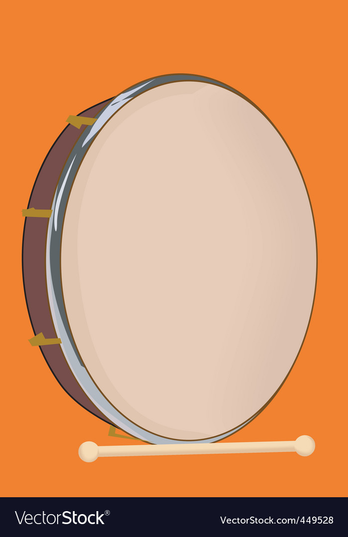 Drums vector | Price: 1 Credit (USD $1)