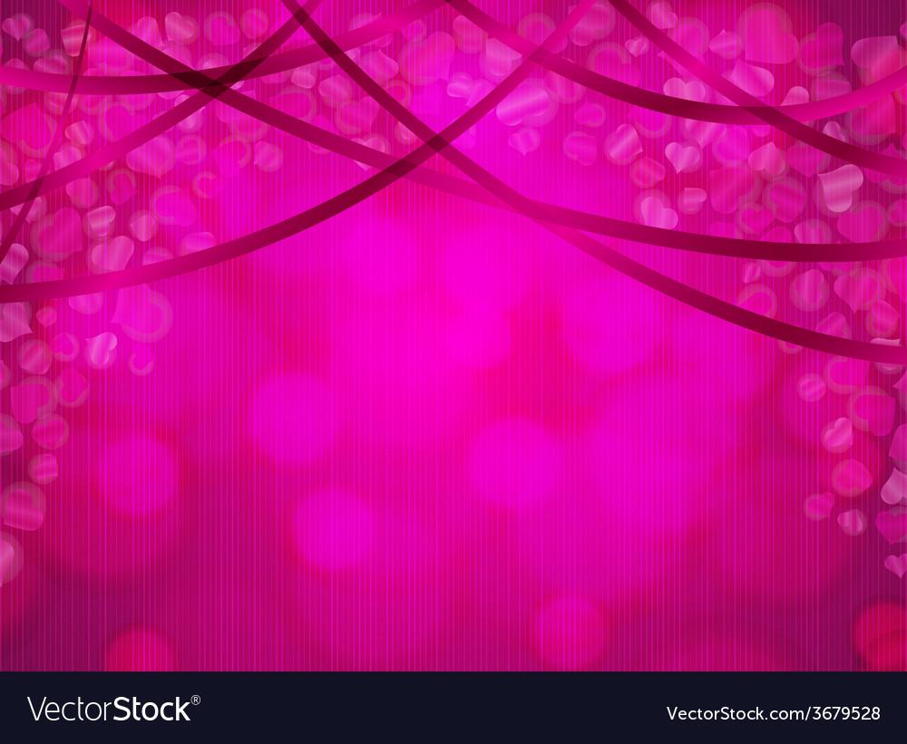 Falling heart confetti vector | Price: 1 Credit (USD $1)