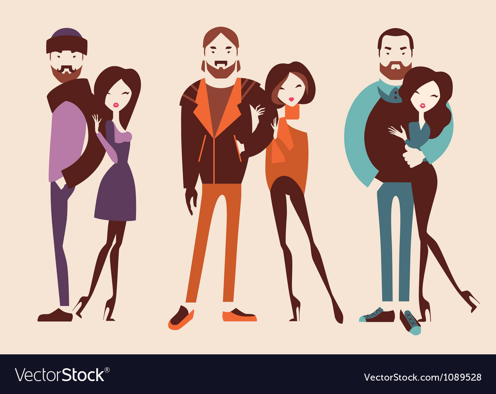 Fashion people vector | Price: 1 Credit (USD $1)