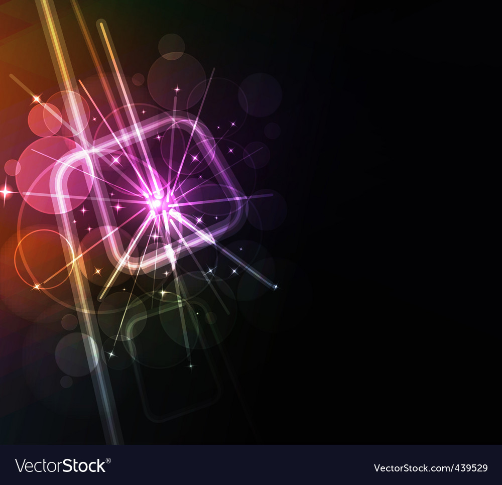 Neon lights design vector | Price: 1 Credit (USD $1)