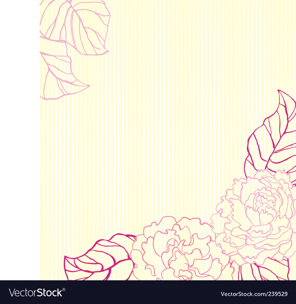 Peonies background vector | Price: 1 Credit (USD $1)