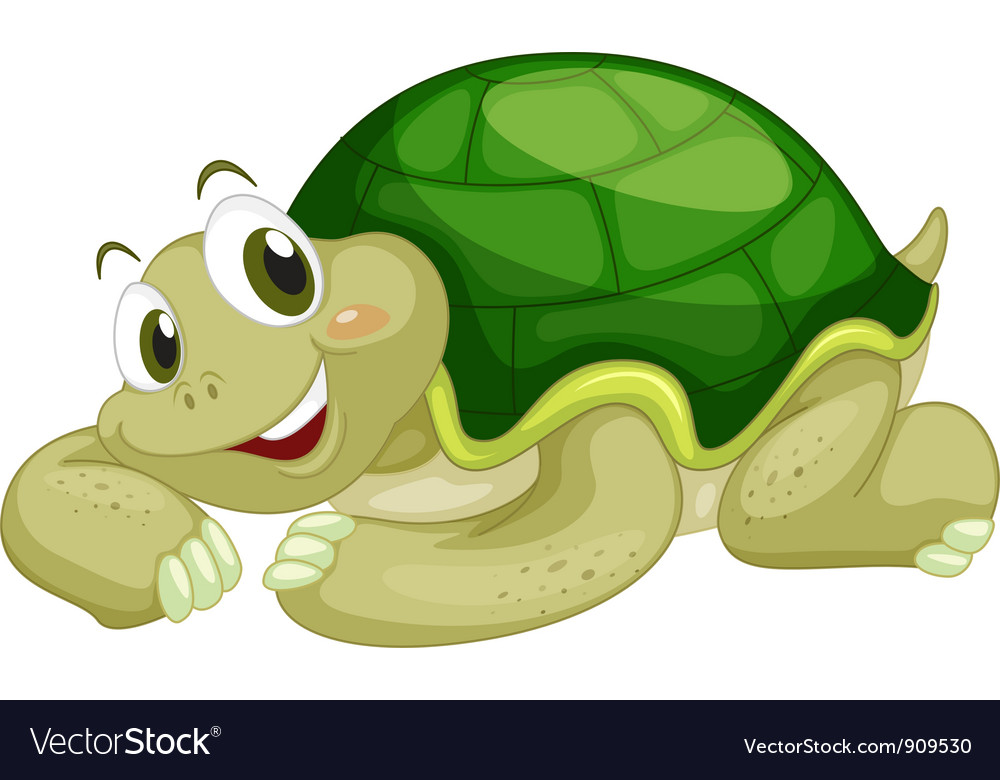 Animated turtle vector | Price: 3 Credit (USD $3)