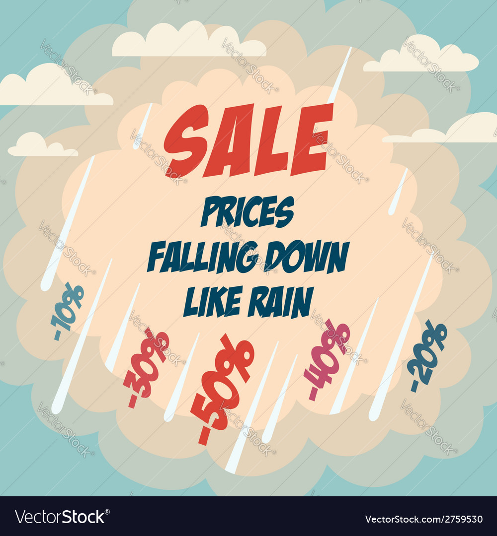 Sale advertising poster vector | Price: 1 Credit (USD $1)