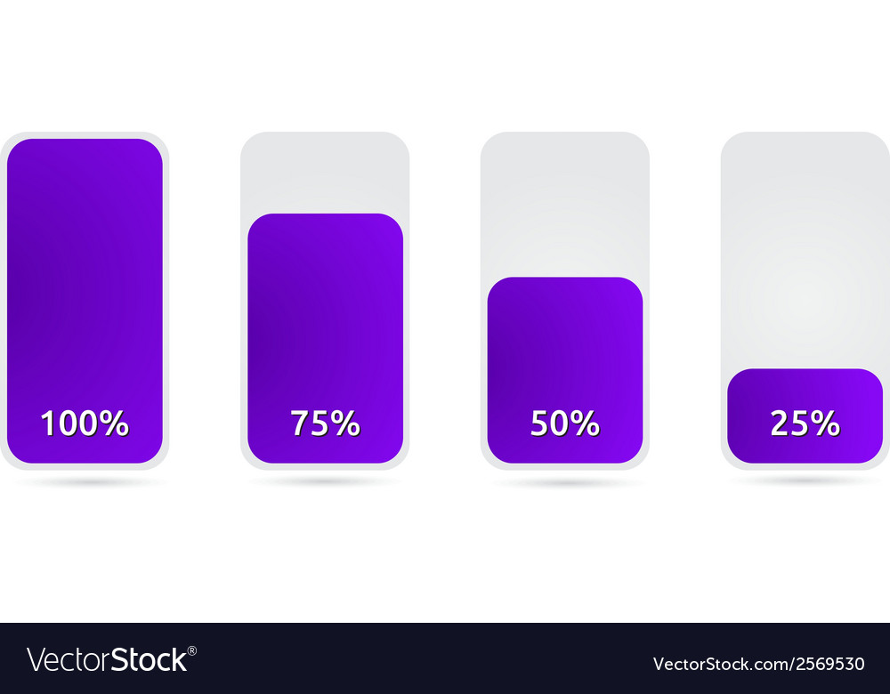 Statistic graph with purple vector | Price: 1 Credit (USD $1)