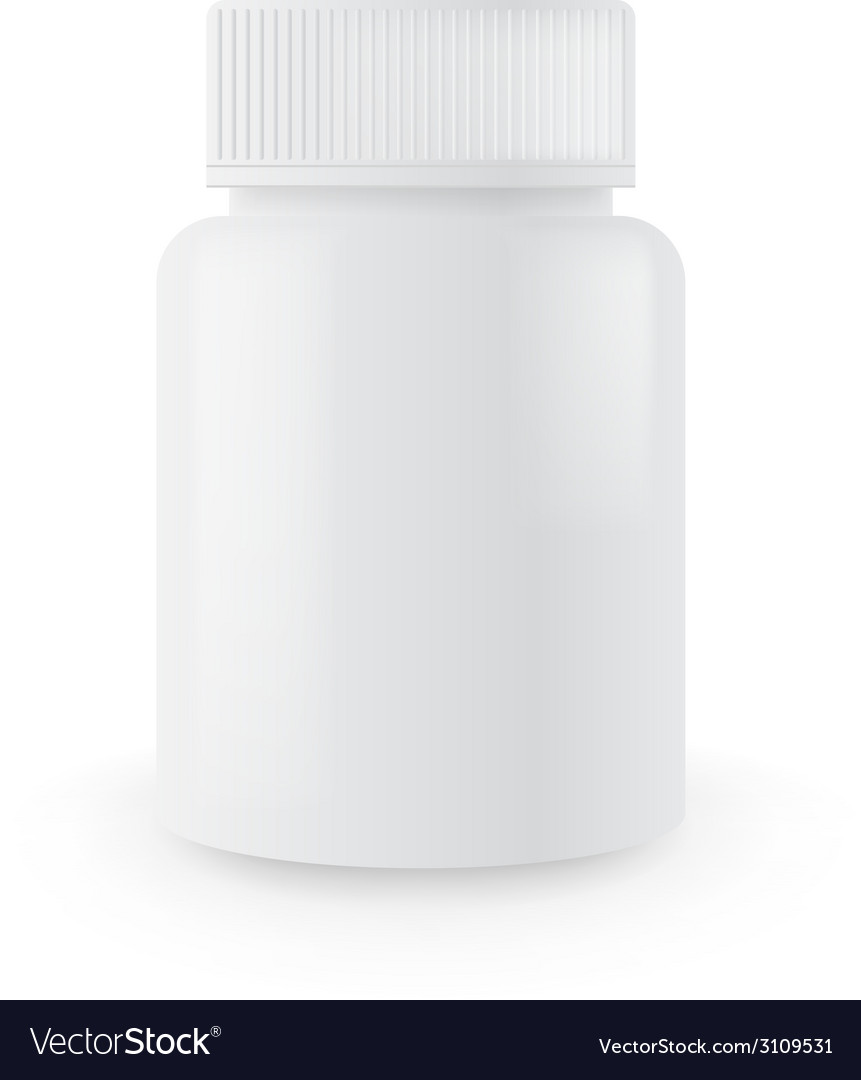 Blank medicine bottle vector | Price: 1 Credit (USD $1)