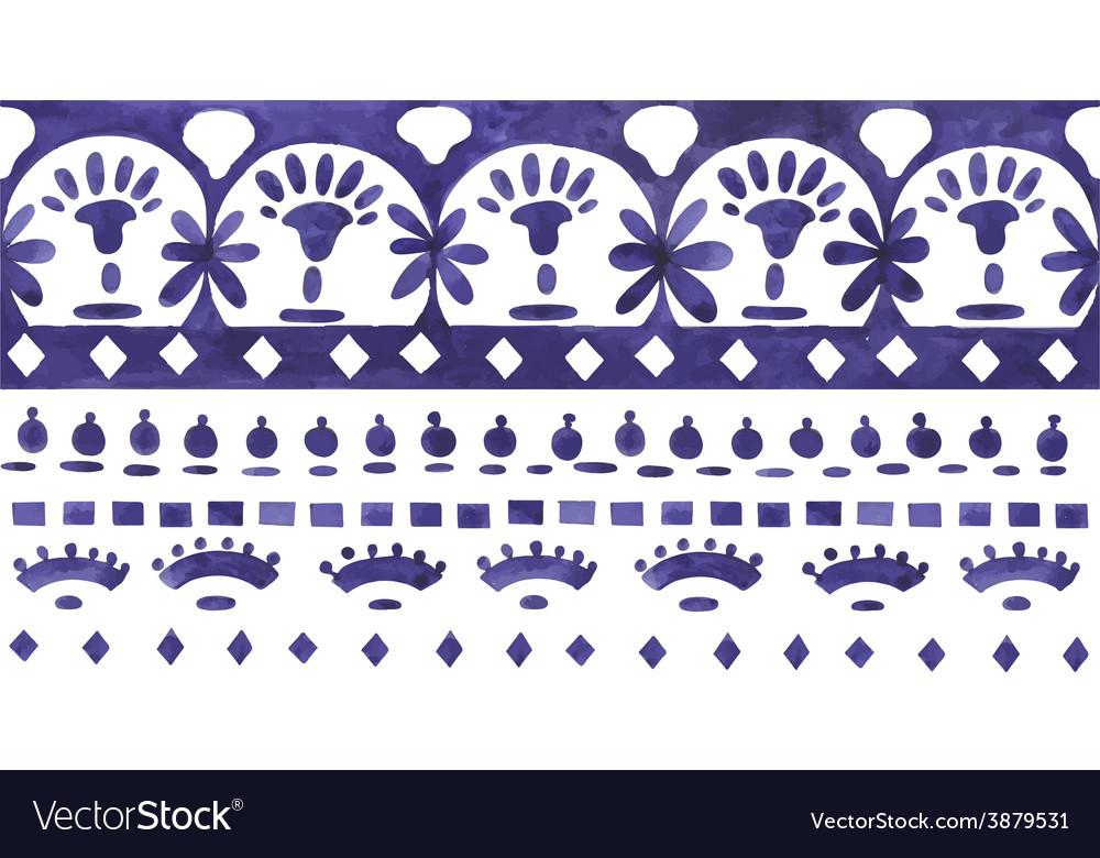 Ethnic jacquard ornament vector | Price: 1 Credit (USD $1)