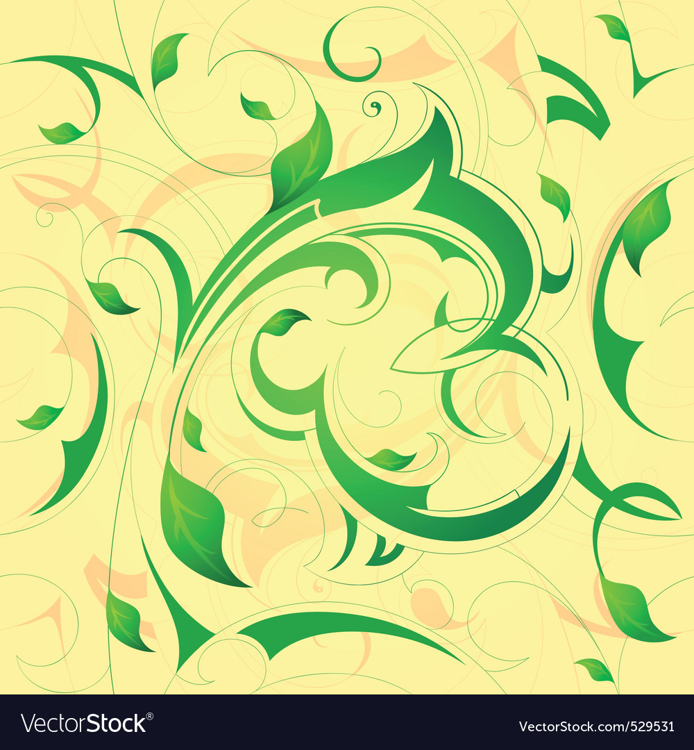 Flourish background vector | Price: 1 Credit (USD $1)
