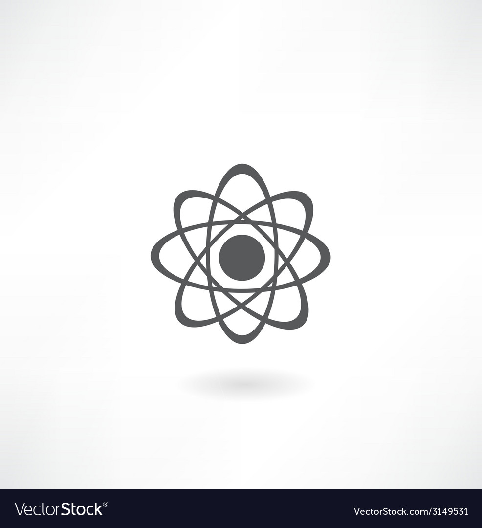Molecular diagram icon vector | Price: 1 Credit (USD $1)