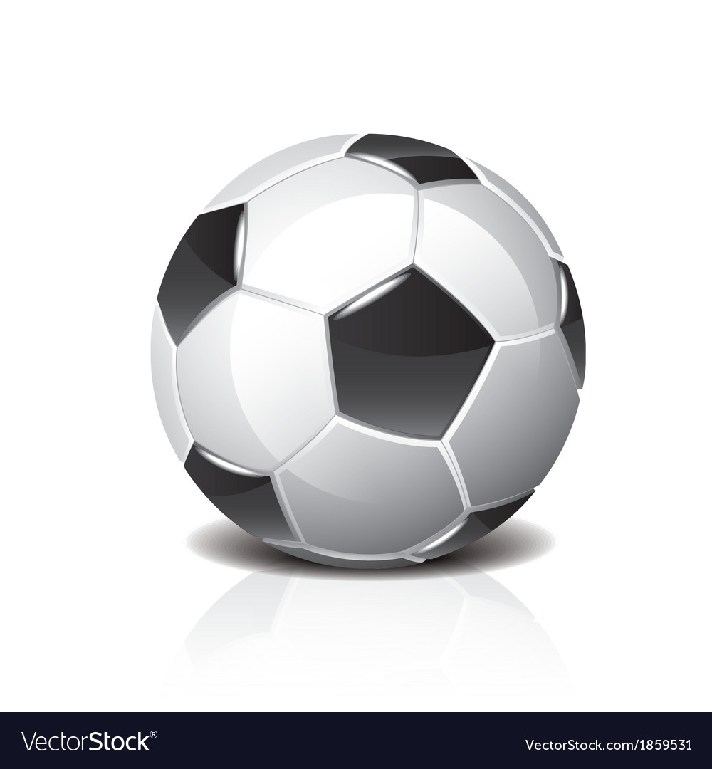 Object soccer ball vector | Price: 1 Credit (USD $1)