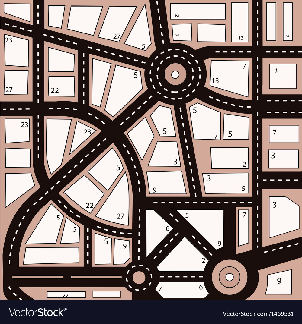 Urban area vector | Price: 1 Credit (USD $1)