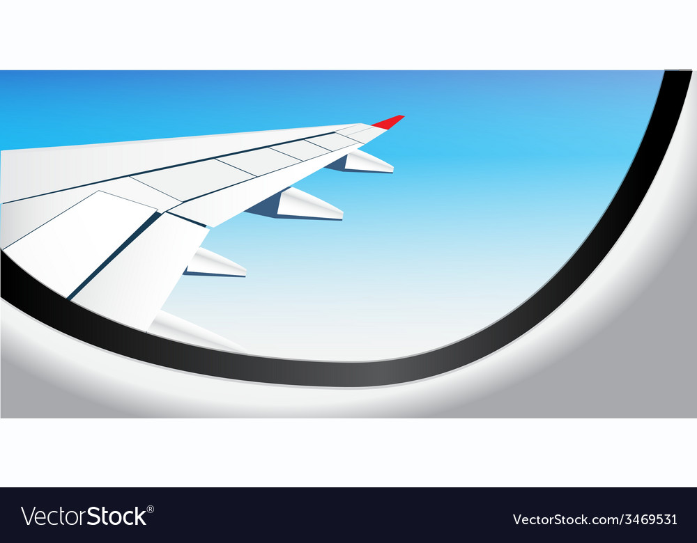 Window airplane 05 vector | Price: 1 Credit (USD $1)