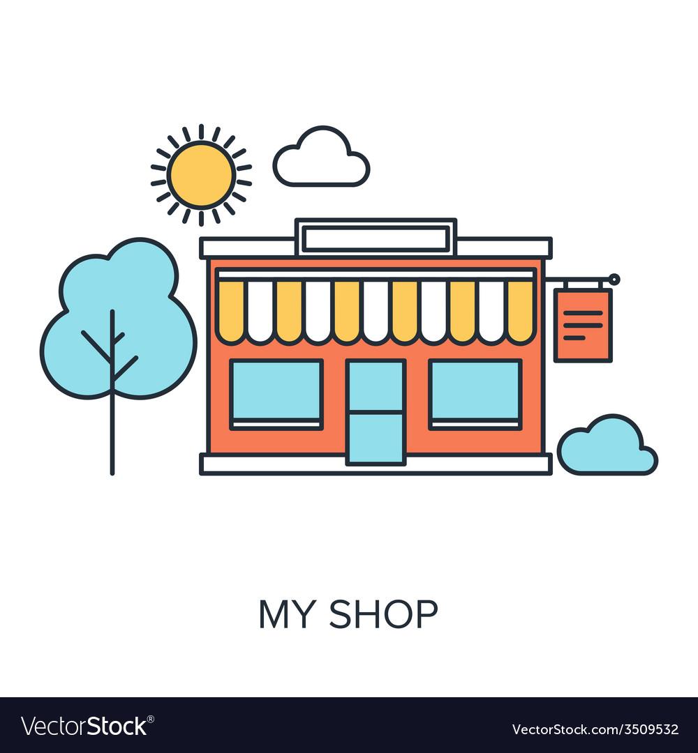 My shop vector | Price: 1 Credit (USD $1)