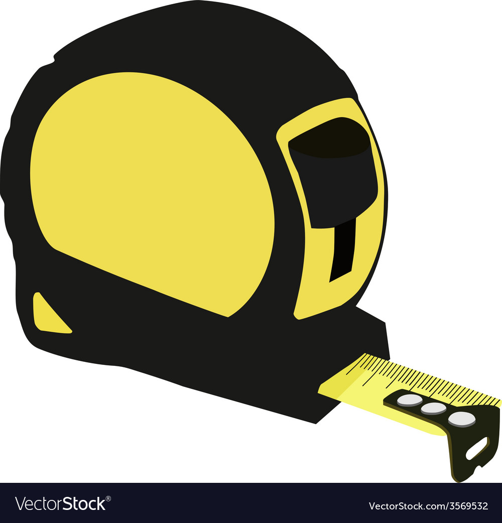Tape measure vector | Price: 1 Credit (USD $1)