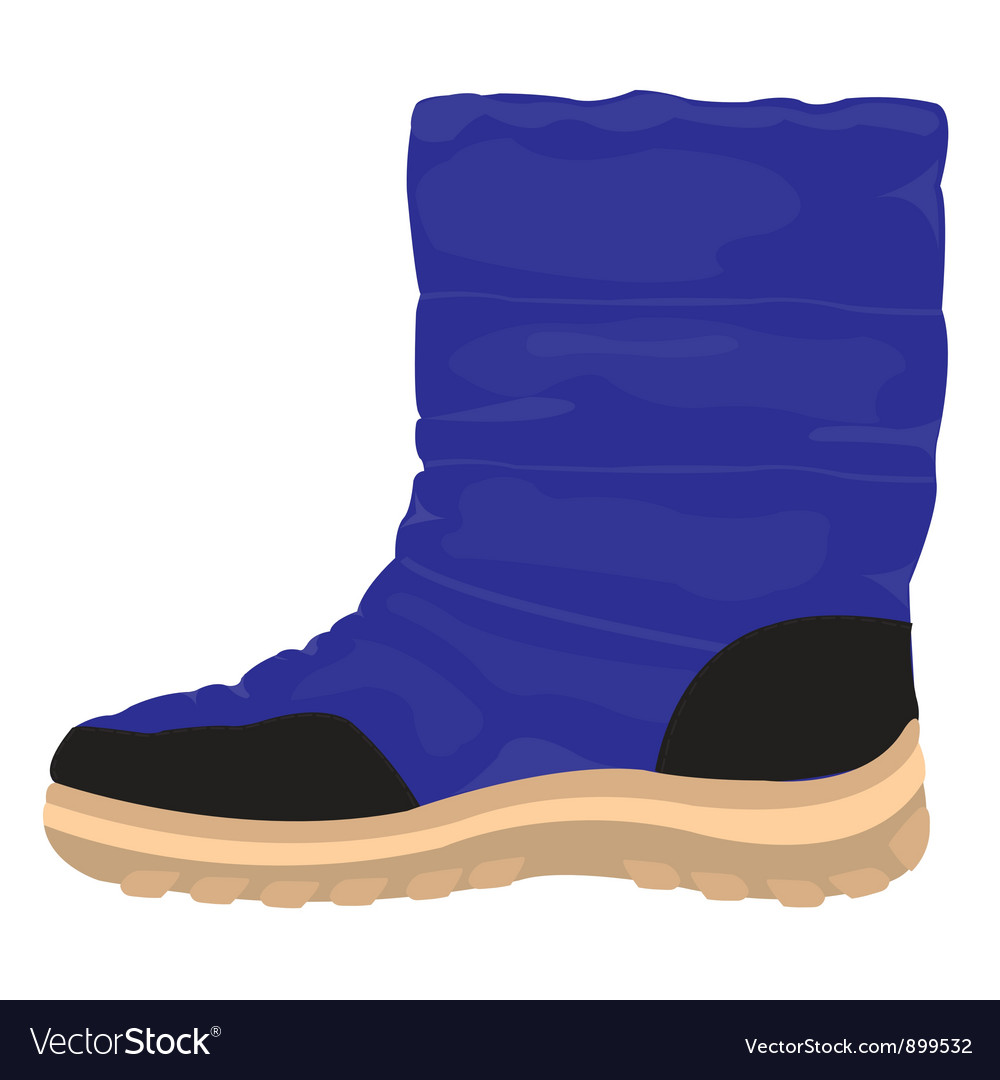 Winter boots vector   Price: 1 Credit (USD $1)