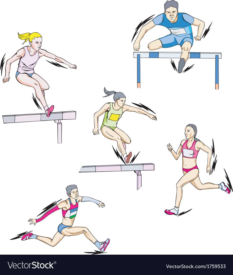 Athletics - run vector | Price: 1 Credit (USD $1)